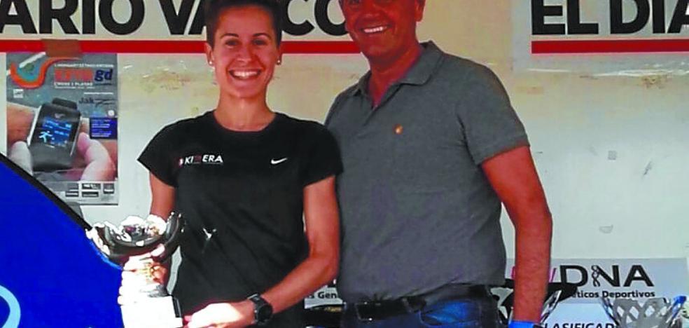 El atletismo femenino de Hernani sigue cosechando éxitos