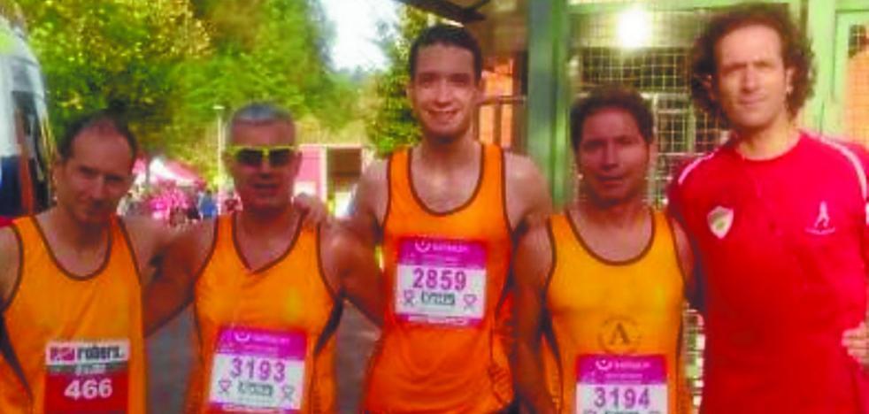 Los atletas de Argixao demuestran estar en plena forma