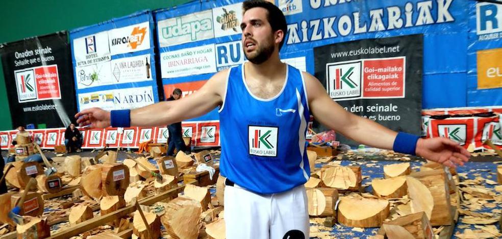 Aitzol Atutxa: «Estoy saturado de aizkora; debo recuperar el apetito»