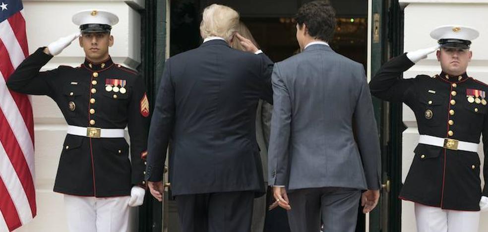 Trump desata la polémica por el consuelo presidencial a los soldados caídos