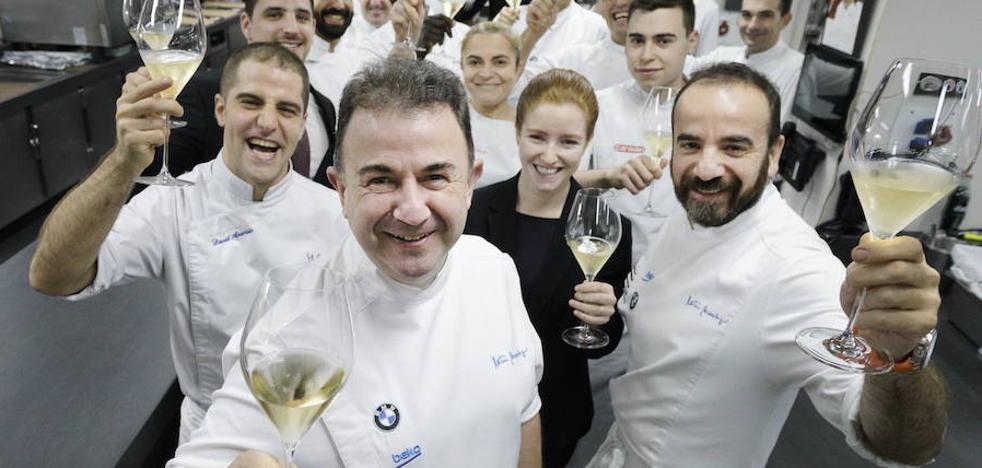 Martín Berasategui, mejor restaurante de España y quinto el mundo en los premios Travelers Choice