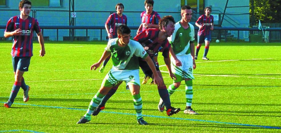 Mal partido del Gure Txokoa en Lezo, donde perdió por 4-0 ante el Allerru