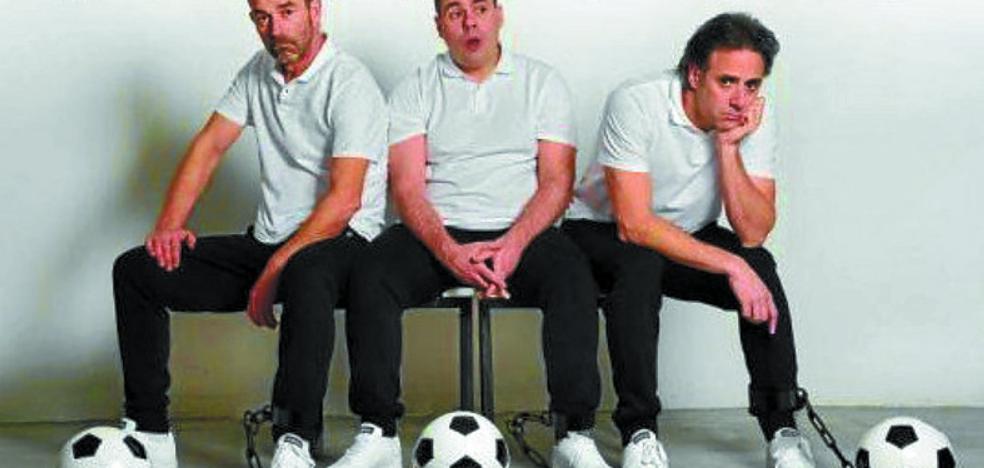 El mundo del fútbol, retratado en la obra 'Fuera de juego', esta tarde en Sarobe