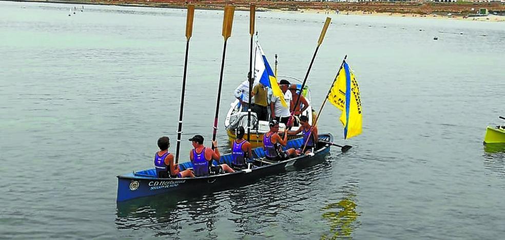 Sanpedrotarra se adjudicó la bandera en aguas de Canarias