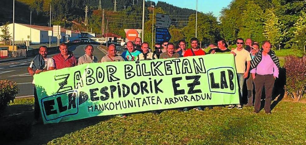 Desconvocan la huelga de recogida de basuras tras readmitirse a los despedidos