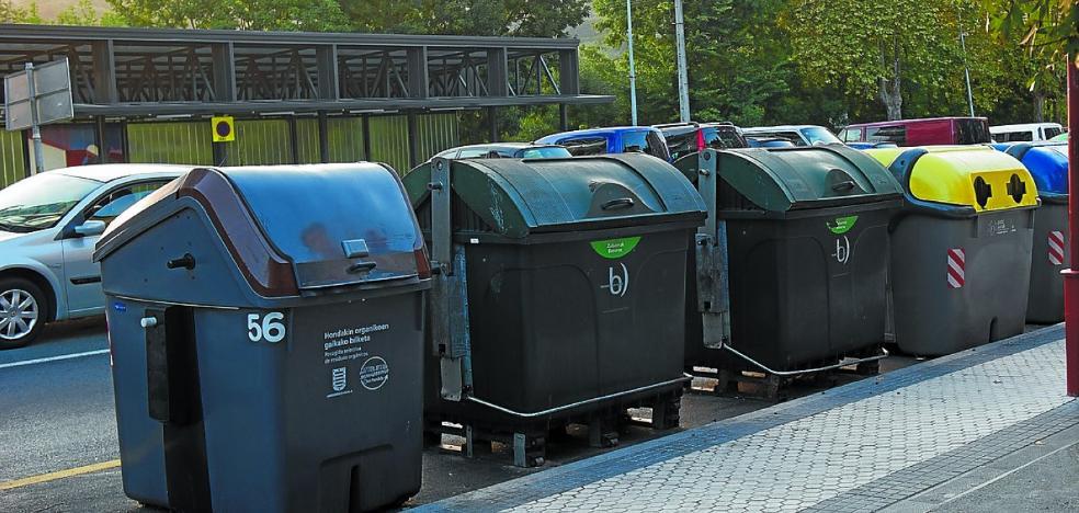 El PNV propone que se actualice el sistema de recogida de basura