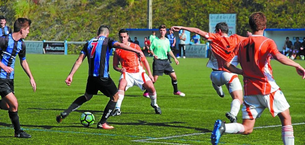 El Ostadar de Preferente tuvo sus opciones (2-1) en Berio ante Sto. Tomas Lizeoa