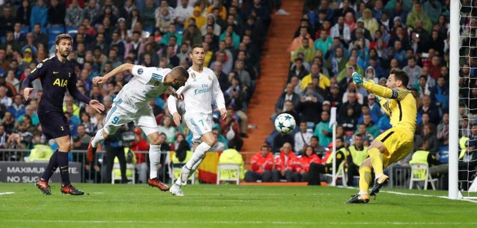 Un Real Madrid de poco vuelo