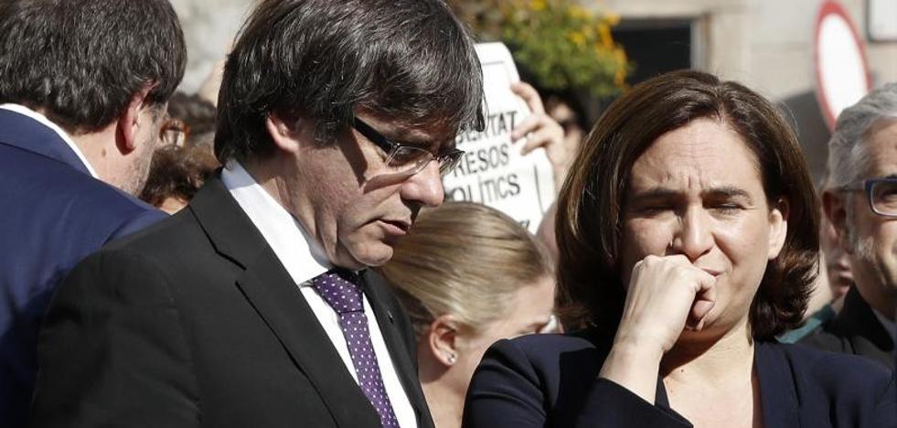 El Ayuntamiento Barcelona suspende hoy su actividad por la detención de Sànchez y Cuixart