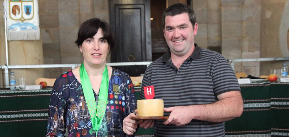 Ipiñaburu gana en el certamen de queso Ordizia Txapeldun