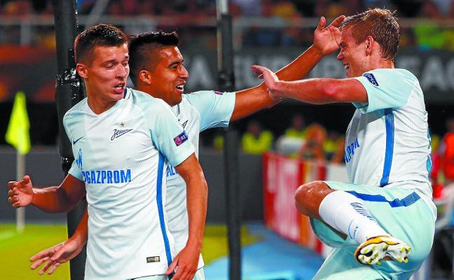 El Zenit defiende el liderato ante el Rosenborg