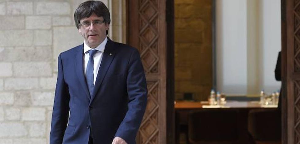 Puigdemont amenaza con votar la declaración de independencia