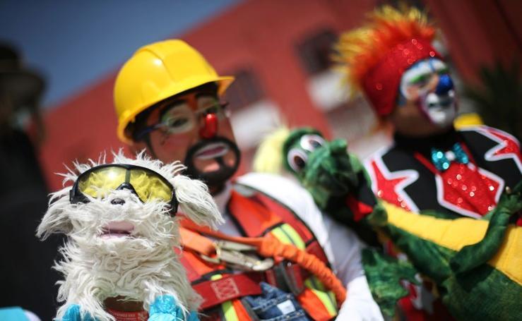 Reunión de clowns en Ciudad de México