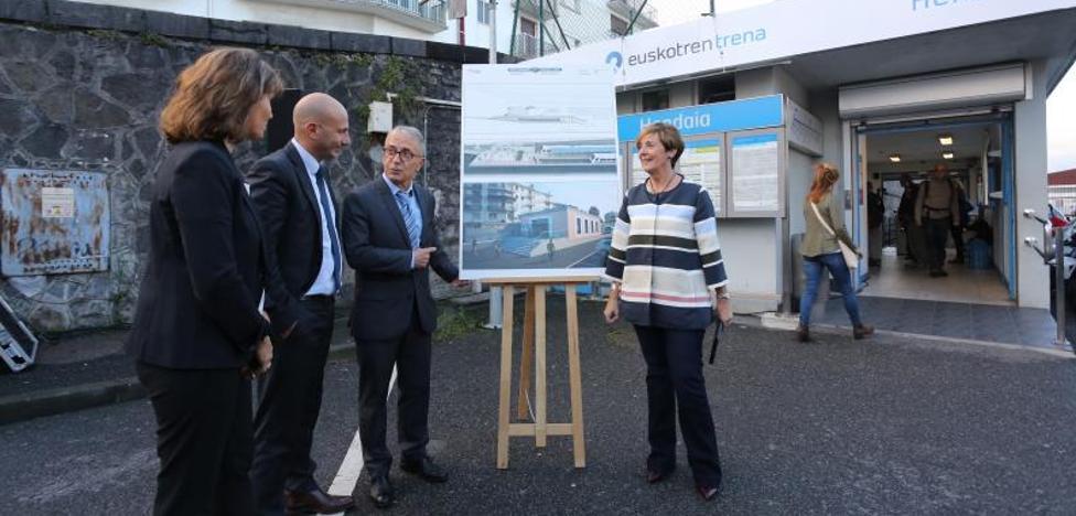 El Gobierno Vasco remodelará la estación del Topo de Hendaia, que tendrá doble vía en 2019