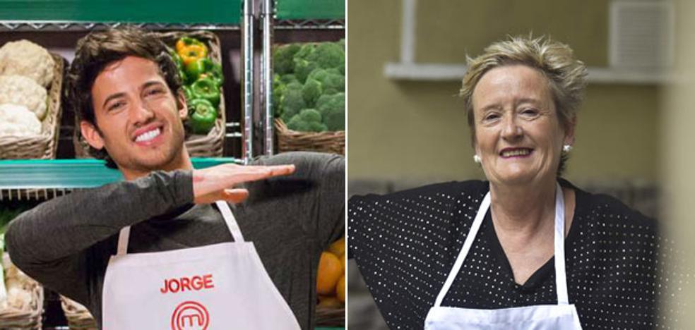 Jorge y Edurne de 'Masterchef' enseñan a cocinar en Donostia