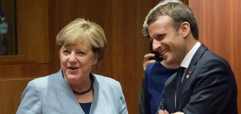 Alemania y Francia expresan su apoyo al Gobierno de Rajoy ante el desafío independentista