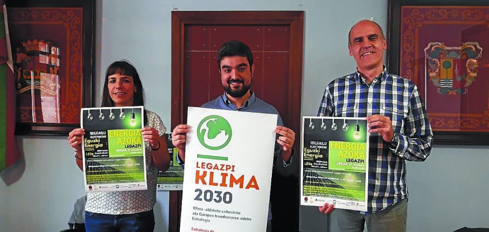 'Feria de la energía' en Kale Nagusia