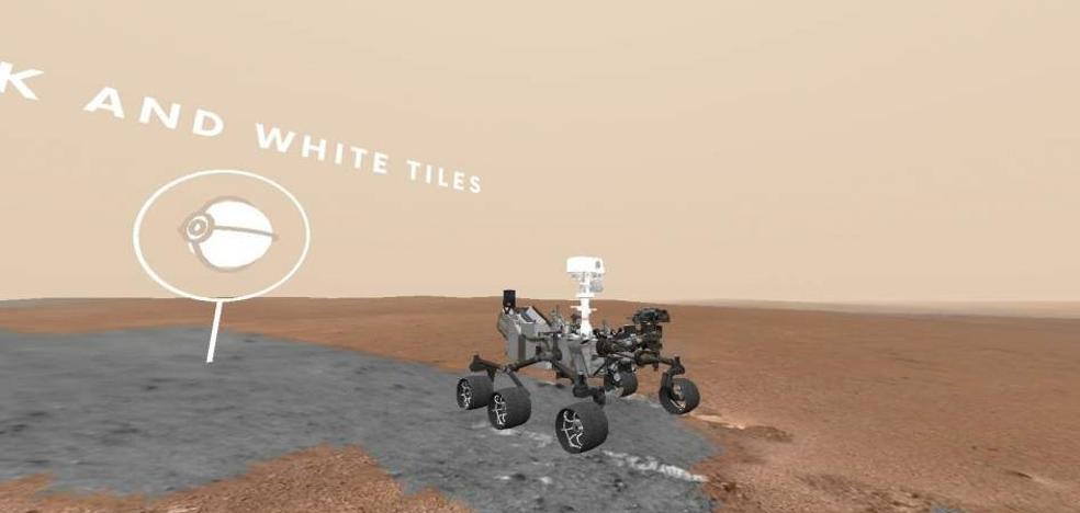 Ya puedes pasear por Marte junto al rover Curiosity