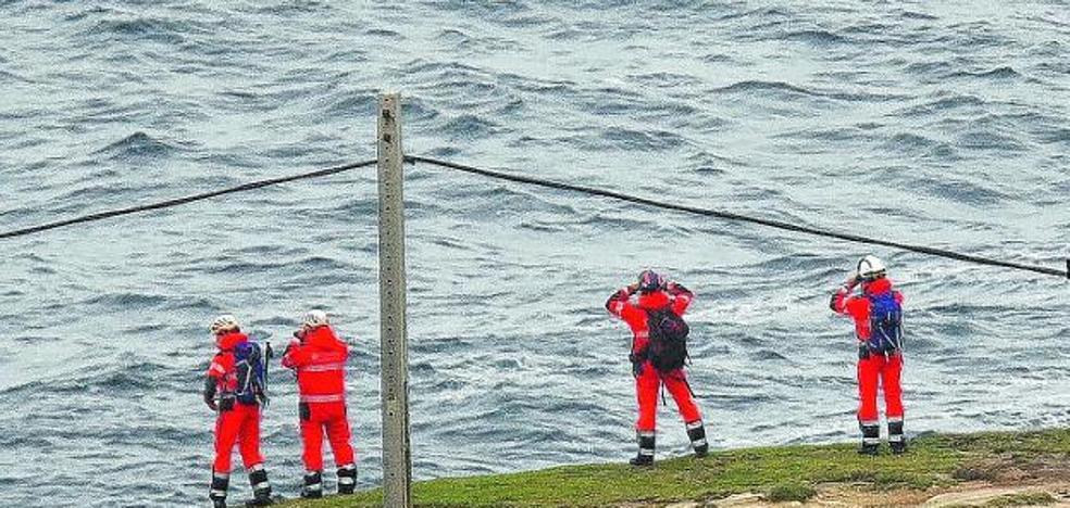 Se reanuda la búsqueda del irunés desaparecido desde el viernes en aguas de Hondarribia