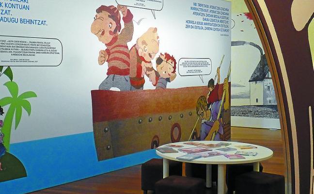 El museo San Telmo presenta la exposición 'Uhartearen Altxorra'