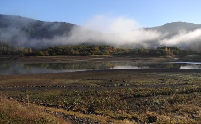 Los embalses guipuzcoanos notan la escasez de lluvia