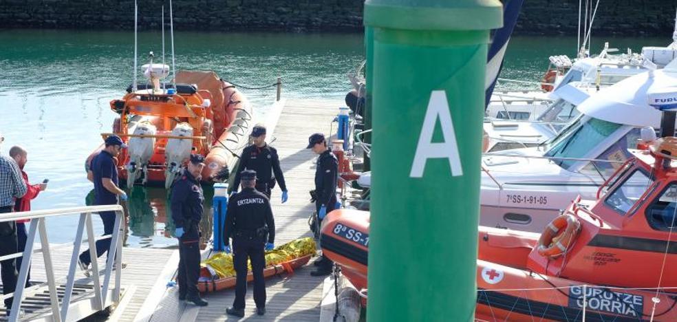 Localizado el cadáver del irunés desaparecido desde el viernes en aguas de Hondarribia