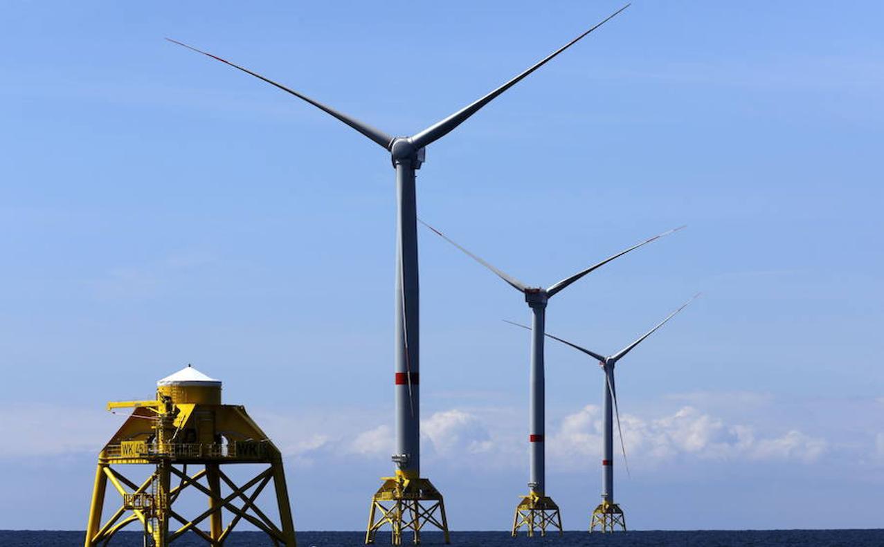 El Dorado eólico está en el mar