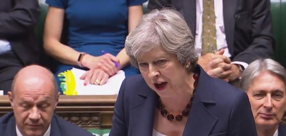 May asegura que el Parlamento británico votará el acuerdo final del 'Brexit'