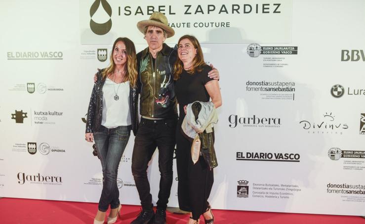 Photocall del desfile de Isabel Zapardiez en Balenciaga