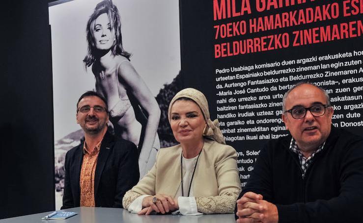 Exposición 'Mil gritos en la noche' en la Semana de Terror de Donostia