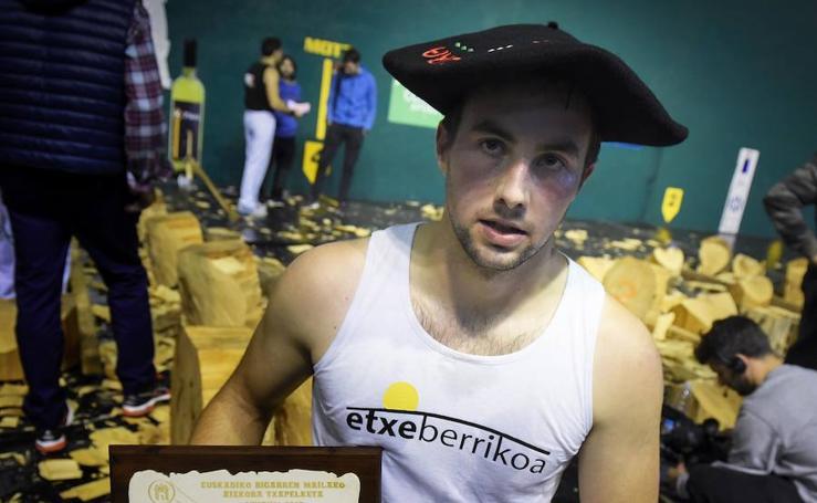 Final del Campeonato de Euskadi de Aizkolaris de segunda