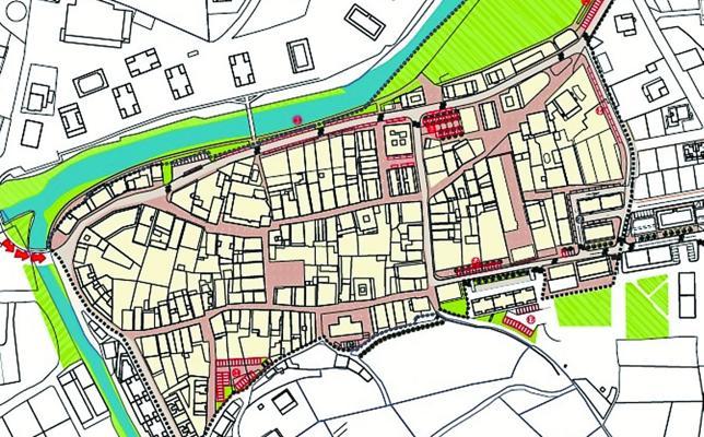 Un plan para el casco histórico de Doneztebe