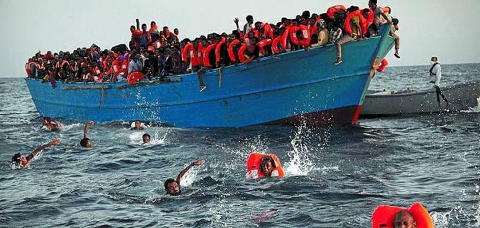 Menos muertes, pero la misma tragedia en el Mediterráneo