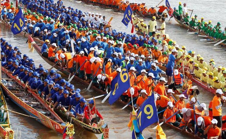 Descubre el Festival del Agua en Camboya