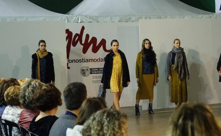 Un frontón a la última moda en Donostia