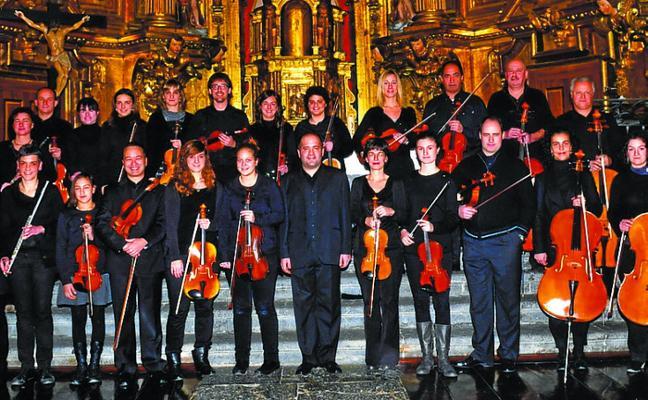 Concierto de Arimaz Orkestra en la parroquia de San Pedro