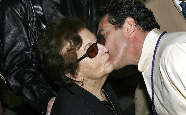 Fallece la madre de Antonio Banderas