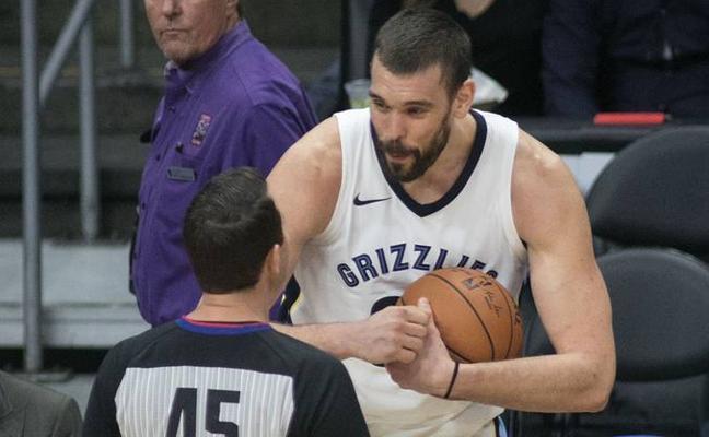 La velocidad de los Lakers doblega a Marc Gasol y a los Grizzlies