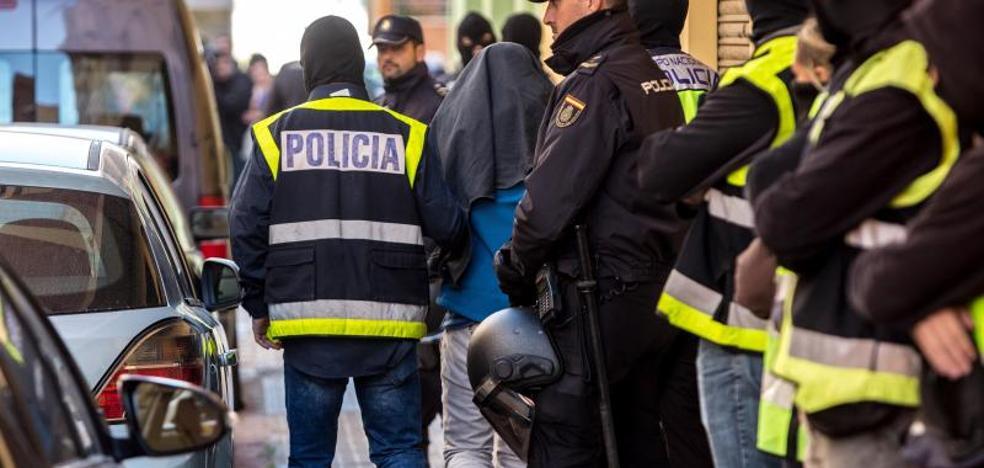 Detenido en Valencia un marroquí integrado en el aparato de captación de Daesh