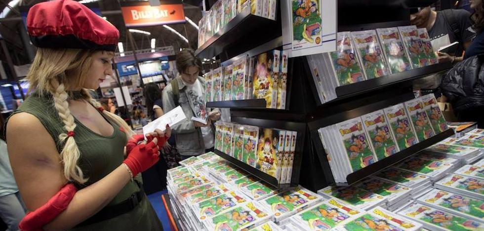El Salón del Manga de Barcelona cierra con más de 148.000 visitantes