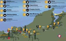 Behobia-San Sebastián: Cambios en el tráfico, los aparcamientos y el transporte público