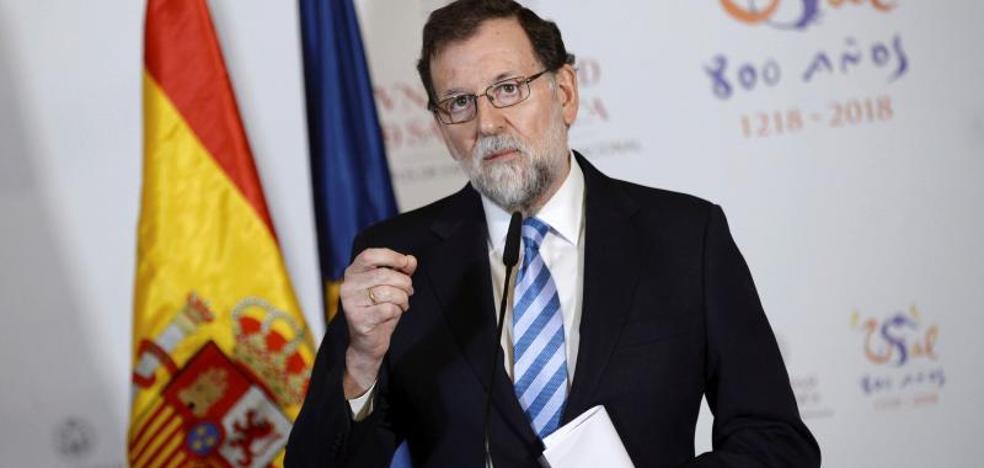 Rajoy agradece a las instituciones de la UE su ayuda frente al secesionismo