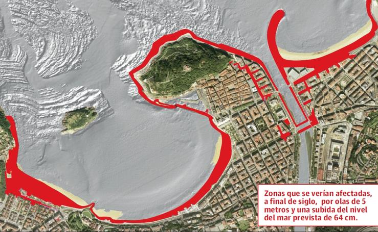 Zonas afectadas por el cambio climático