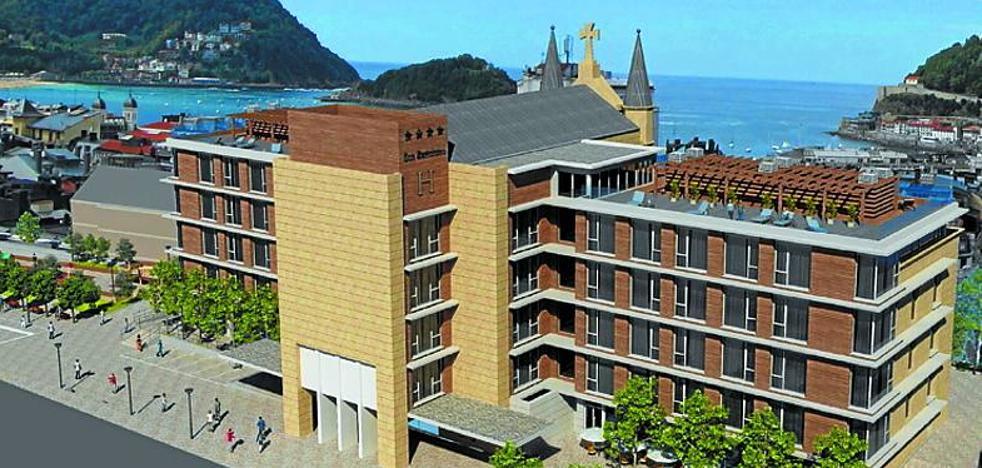 Arranca la obra del futuro hotel de San Bartolomé