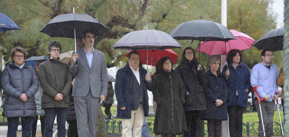 Donostia acoge el único acto unitario en el 'Día de la Memoria'