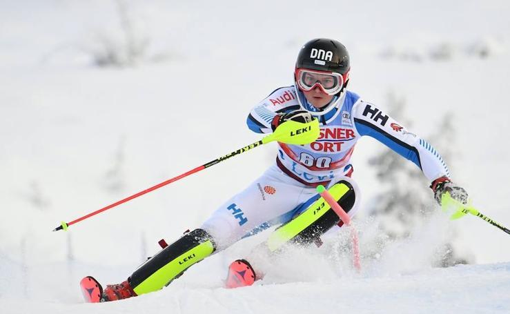 Esquiadoras en la Copa del Mundo de esquí FIS