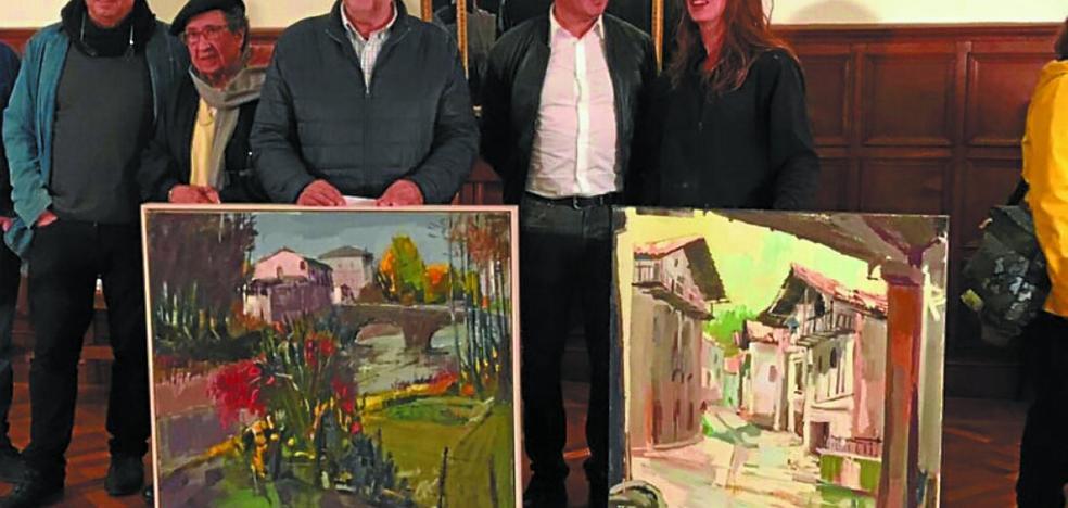 Johana Soldevilla y Juan José Altuna ganan los premios de pintura del Casino