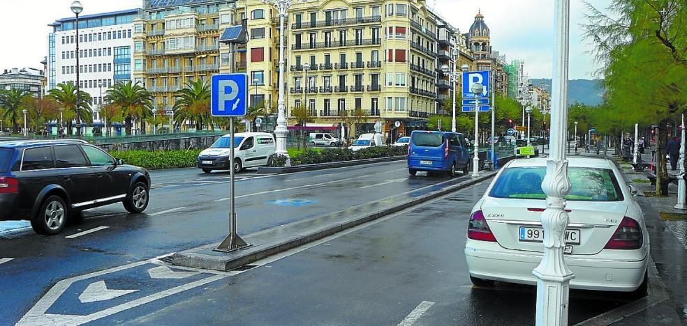 El parking de La Concha abrirá un nuevo acceso para residentes