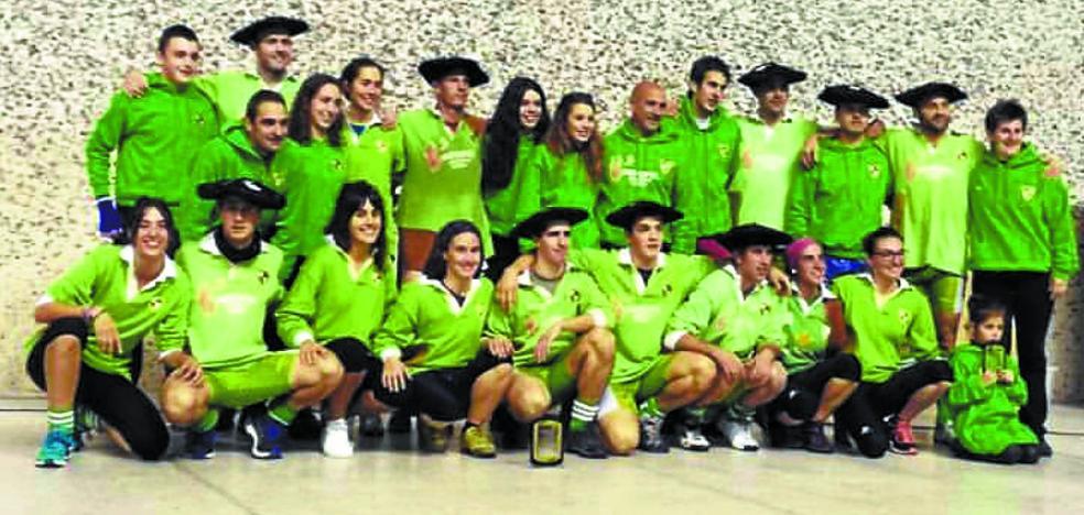 El Beti Gazte consigue con autoridad su primer título navarro de sokatira