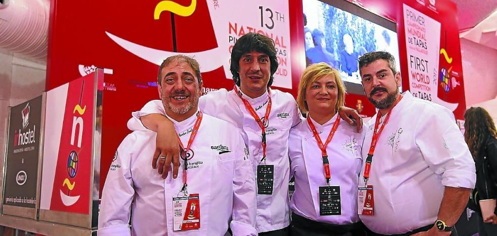 Hondarribia se quedó sin premios en Valladolid
